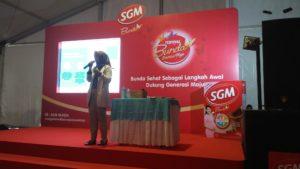 Beauty class dari Wardah di Festival SGM Bunda Generasi Maju