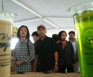 Ramainya pengunjung Gelar Produk Makanan Minuman Craft dan Fashion Istimewa Yogyakarta