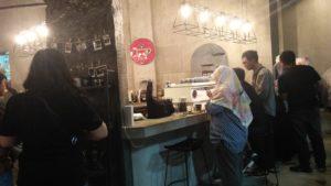 Suasana Cafe Gudang Kopi
