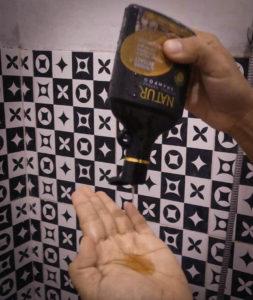 Natur Shampoo Ginseng Extract